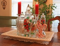 glass jar decor